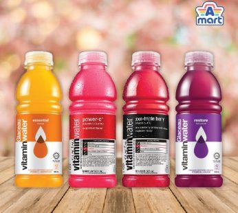 Glaceau Vitamin Water Power-C Dragonfruit / Essential Orange / Restore Fruit Punch / XXX Triple Berry 500ml