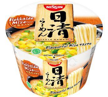 NISSIN JAPANESE RAMEN BOWL HOKKAIDO MISO 113g / KYUSHU BLACK 111g /  KYUSHU RED 111g