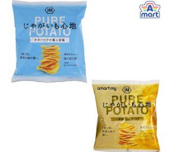Koikeya Pure Potato Okhotsk Rock Salt Chips / Koikeya Pure Potato Sesame Oil & Rock Salt Chips 58g