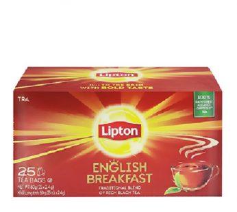 LIPTON ENGLISH BREAKFAST HELIUM 25×2.4g