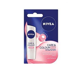 NIVEA LIP BALM CARE & COLOR ROSE / STRAWBERRY SHINE 4.8g