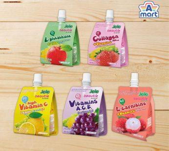 Jele Beautie Lychee / Strawberry / Lemon / Grape / Apple 150g (Vitamins A C E +Zinc)