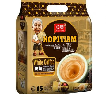 AH HUAT KOPITIAM WHITE COFFEE CHARCOAL ROAST 15X30g