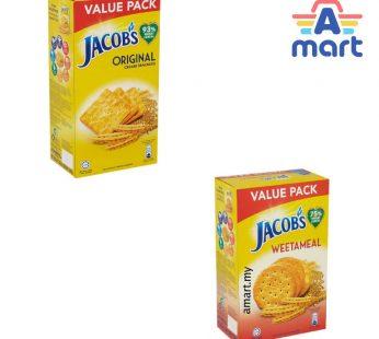 Jacob Cream Cracker Value 360g / Jacob's Weetameal 289g
