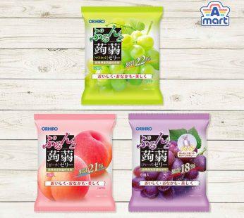 Japan Orihiro Konjac Jelly 6's Peach / Grapes / Muscat
